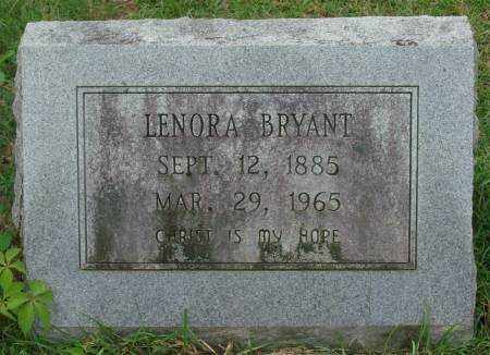 BRYANT, LENORA - Saline County, Arkansas | LENORA BRYANT - Arkansas Gravestone Photos