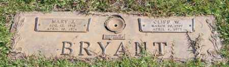 BRYANT, MARY J. - Saline County, Arkansas | MARY J. BRYANT - Arkansas Gravestone Photos