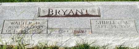 BRYANT, WALTER D. - Saline County, Arkansas | WALTER D. BRYANT - Arkansas Gravestone Photos