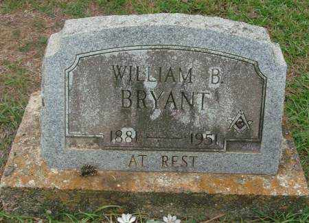 BRYANT, WILLIAM B - Saline County, Arkansas | WILLIAM B BRYANT - Arkansas Gravestone Photos