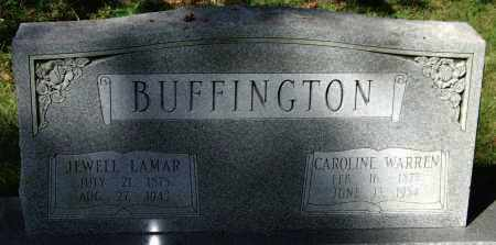 WARREN BUFFINGTON, CAROLINE - Saline County, Arkansas | CAROLINE WARREN BUFFINGTON - Arkansas Gravestone Photos