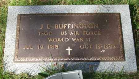 BUFFINGTON (VETERAN WWII), J  L - Saline County, Arkansas | J  L BUFFINGTON (VETERAN WWII) - Arkansas Gravestone Photos