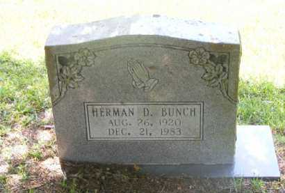 BUNCH, HERMAN D. - Saline County, Arkansas | HERMAN D. BUNCH - Arkansas Gravestone Photos
