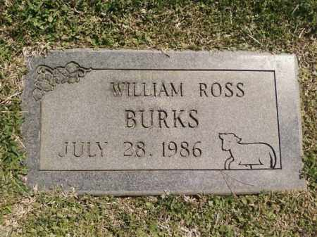 BURKS, WILLIAM ROSS - Saline County, Arkansas | WILLIAM ROSS BURKS - Arkansas Gravestone Photos