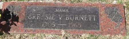 LINDSEY BURNETT, CRESSIE VICTORIA - Saline County, Arkansas | CRESSIE VICTORIA LINDSEY BURNETT - Arkansas Gravestone Photos