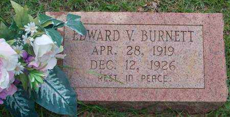 BURNETT, EDWARD V - Saline County, Arkansas | EDWARD V BURNETT - Arkansas Gravestone Photos
