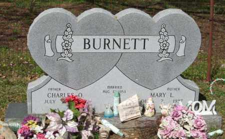 BURNETT, MARY L - Saline County, Arkansas | MARY L BURNETT - Arkansas Gravestone Photos
