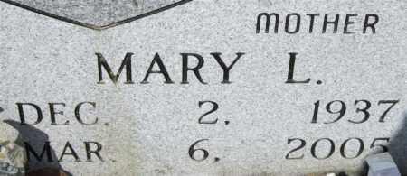BURNETT, MARY L (CLOSEUP) - Saline County, Arkansas | MARY L (CLOSEUP) BURNETT - Arkansas Gravestone Photos