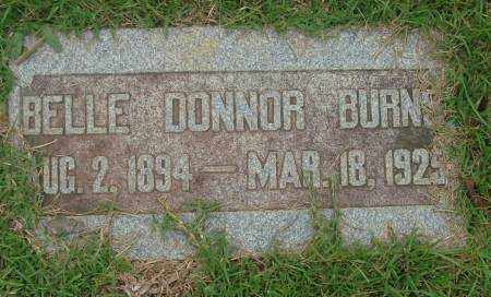 DONNOR BURNS, BELLE - Saline County, Arkansas | BELLE DONNOR BURNS - Arkansas Gravestone Photos