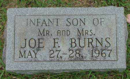 BURNS, INFANT SON - Saline County, Arkansas | INFANT SON BURNS - Arkansas Gravestone Photos