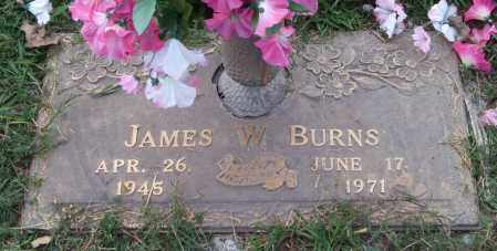 BURNS, JAMES W. - Saline County, Arkansas | JAMES W. BURNS - Arkansas Gravestone Photos