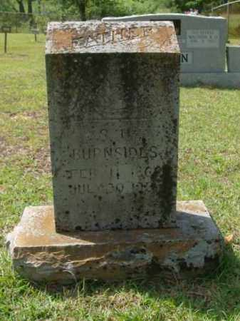 BURNSIDES, S.H. - Saline County, Arkansas | S.H. BURNSIDES - Arkansas Gravestone Photos