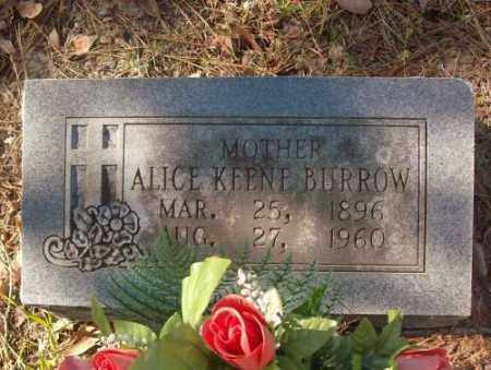 BURROW, ALICE - Saline County, Arkansas | ALICE BURROW - Arkansas Gravestone Photos