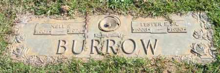 BURROW, NELL E. - Saline County, Arkansas | NELL E. BURROW - Arkansas Gravestone Photos