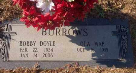 BURROWS, BOBBY DOYLE - Saline County, Arkansas | BOBBY DOYLE BURROWS - Arkansas Gravestone Photos