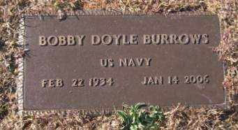 BURROWS (VETERAN), BOBBY DOYLE - Saline County, Arkansas | BOBBY DOYLE BURROWS (VETERAN) - Arkansas Gravestone Photos