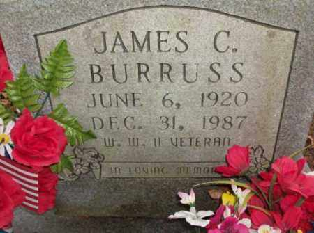 BURRUSS, JAMES C. - Saline County, Arkansas | JAMES C. BURRUSS - Arkansas Gravestone Photos