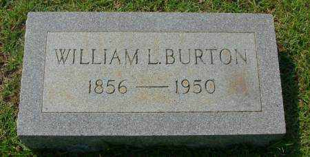 BURTON, WILLIAM L - Saline County, Arkansas | WILLIAM L BURTON - Arkansas Gravestone Photos