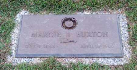 BUXTON, MARGIE J. - Saline County, Arkansas | MARGIE J. BUXTON - Arkansas Gravestone Photos