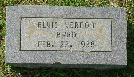 BYRD, ALVIS VERNON - Saline County, Arkansas | ALVIS VERNON BYRD - Arkansas Gravestone Photos