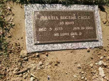 CAGLE, FERRELL EUGENE - Saline County, Arkansas | FERRELL EUGENE CAGLE - Arkansas Gravestone Photos