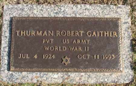 GAITHER (VETERAN WWII), THURMAN ROBERT - Saline County, Arkansas | THURMAN ROBERT GAITHER (VETERAN WWII) - Arkansas Gravestone Photos