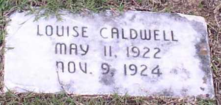 CALDWELL, LOUISE - Saline County, Arkansas | LOUISE CALDWELL - Arkansas Gravestone Photos