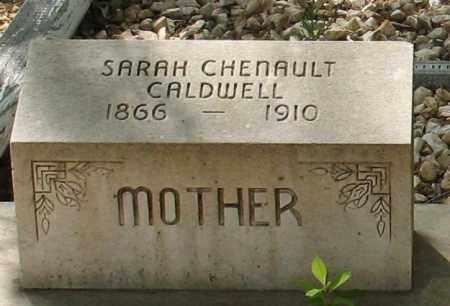 CHENAULT CALDWELL, SARAH - Saline County, Arkansas | SARAH CHENAULT CALDWELL - Arkansas Gravestone Photos