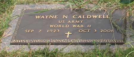 CALDWELL (VETERAN WWII), WAYNE N. - Saline County, Arkansas | WAYNE N. CALDWELL (VETERAN WWII) - Arkansas Gravestone Photos