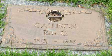 CALLISON, ROY C. - Saline County, Arkansas | ROY C. CALLISON - Arkansas Gravestone Photos
