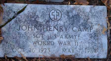 CAMP (VETERAN WWII), JOHN HENRY - Saline County, Arkansas | JOHN HENRY CAMP (VETERAN WWII) - Arkansas Gravestone Photos