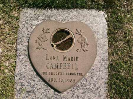 CAMPBELL, LANA MARIE - Saline County, Arkansas | LANA MARIE CAMPBELL - Arkansas Gravestone Photos