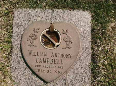 CAMPBELL, WILLIAM ANTHONY - Saline County, Arkansas | WILLIAM ANTHONY CAMPBELL - Arkansas Gravestone Photos