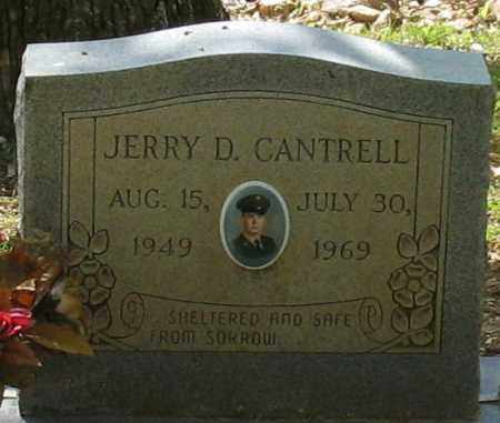 CANTRELL, JERRY DALE - Saline County, Arkansas | JERRY DALE CANTRELL - Arkansas Gravestone Photos