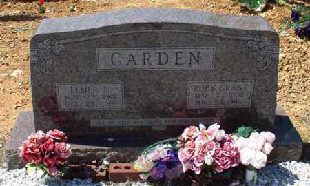 GRANT CARDEN, RUBY - Saline County, Arkansas | RUBY GRANT CARDEN - Arkansas Gravestone Photos