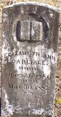 CARLISLE, ELIZABETH ANN - Saline County, Arkansas | ELIZABETH ANN CARLISLE - Arkansas Gravestone Photos