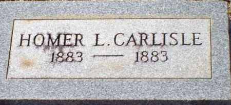 CARLISLE, HOMER L - Saline County, Arkansas | HOMER L CARLISLE - Arkansas Gravestone Photos