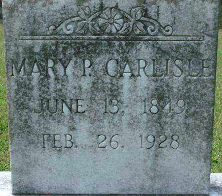 CARLISLE, MARY - Saline County, Arkansas | MARY CARLISLE - Arkansas Gravestone Photos