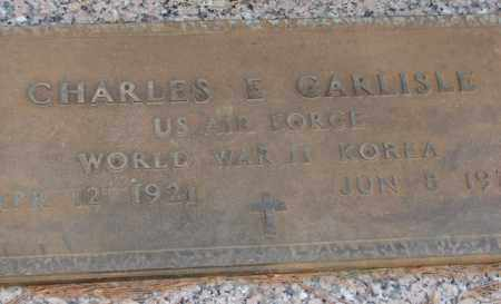 CARLISLE (VETERAN 2 WARS), CHARLES E - Saline County, Arkansas | CHARLES E CARLISLE (VETERAN 2 WARS) - Arkansas Gravestone Photos