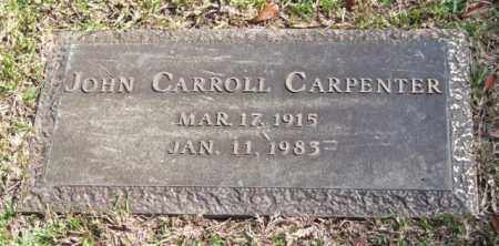 CARPENTER, JOHN CARROLL - Saline County, Arkansas | JOHN CARROLL CARPENTER - Arkansas Gravestone Photos