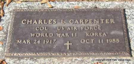 CARPENTER (VETERAN 2 WARS), CHARLES L - Saline County, Arkansas | CHARLES L CARPENTER (VETERAN 2 WARS) - Arkansas Gravestone Photos