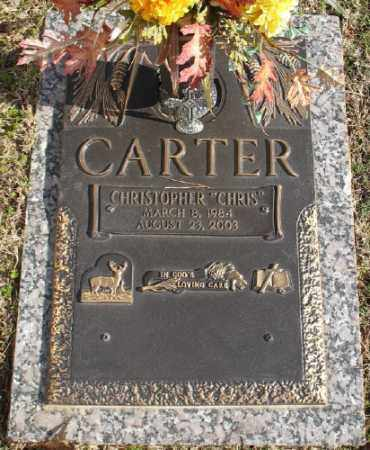 CARTER, CHRISTOPHER - Saline County, Arkansas | CHRISTOPHER CARTER - Arkansas Gravestone Photos