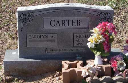 CARTER, RICHARD LEE - Saline County, Arkansas | RICHARD LEE CARTER - Arkansas Gravestone Photos