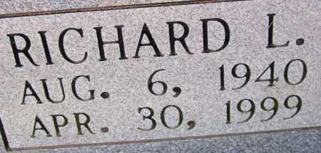 CARTER, RICHARD LEE (CLOSEUP) - Saline County, Arkansas | RICHARD LEE (CLOSEUP) CARTER - Arkansas Gravestone Photos