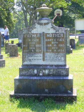 COLLATT CATE, MARY E. - Saline County, Arkansas | MARY E. COLLATT CATE - Arkansas Gravestone Photos