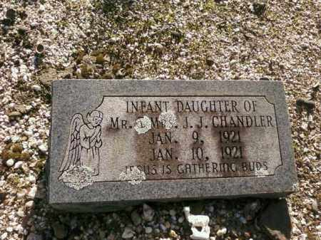 CHANDLER, INFANT DAUGHTER - Saline County, Arkansas | INFANT DAUGHTER CHANDLER - Arkansas Gravestone Photos