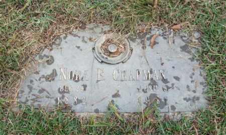 CHAPMAN, NORA E. - Saline County, Arkansas | NORA E. CHAPMAN - Arkansas Gravestone Photos
