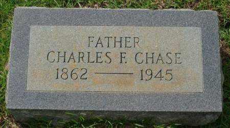 CHASE, CHARLES F. - Saline County, Arkansas | CHARLES F. CHASE - Arkansas Gravestone Photos