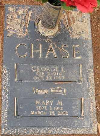 CHASE, MARY M. - Saline County, Arkansas | MARY M. CHASE - Arkansas Gravestone Photos