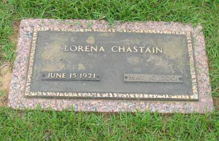 CHASTAIN, LORENA - Saline County, Arkansas | LORENA CHASTAIN - Arkansas Gravestone Photos